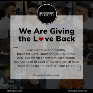 Clients Kensington Barbers Dubai
