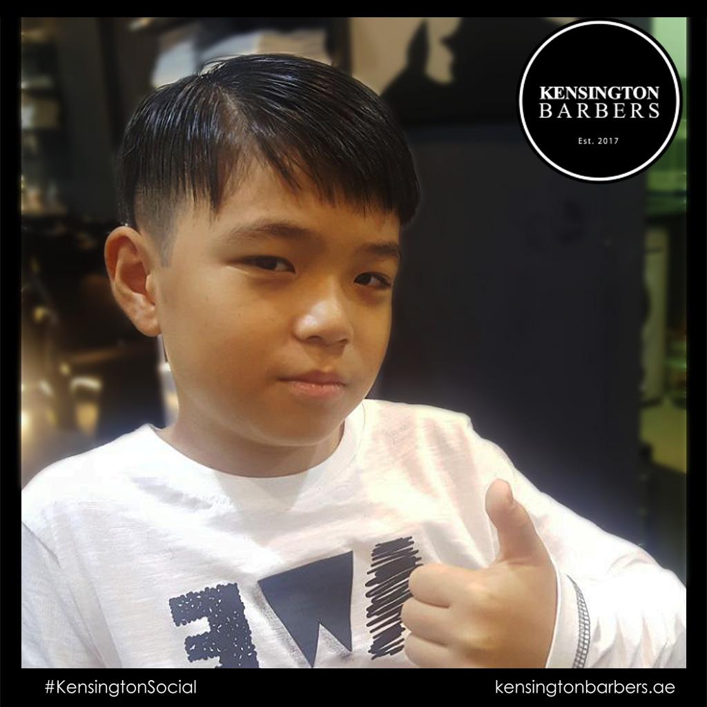 Hair Style Kensington Barbers Dubai