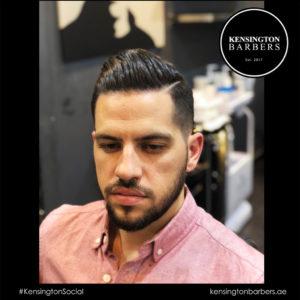 Client Kensington Barbers Dubai