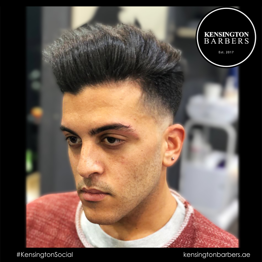 Kensington Barbers Dubai Hair Cut
