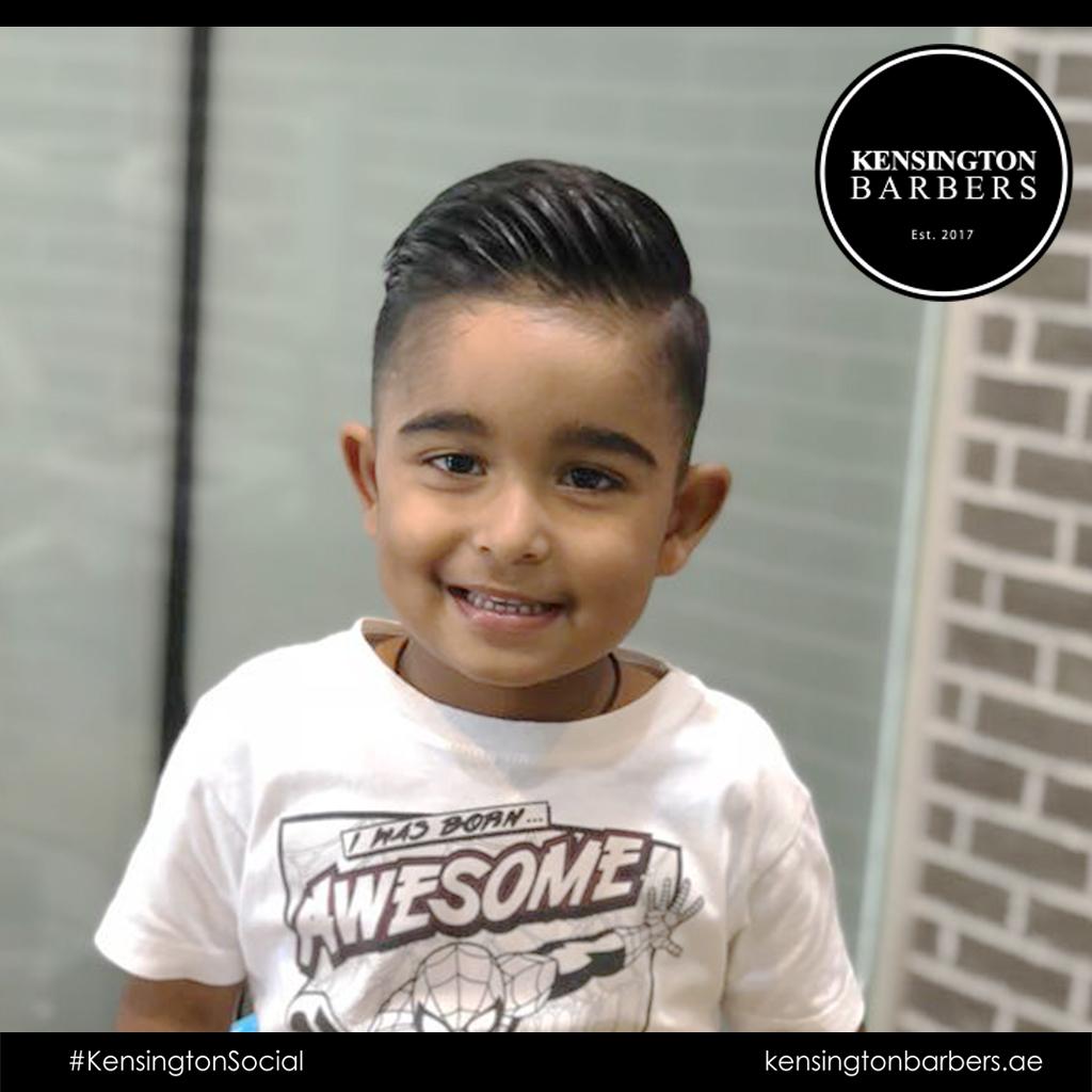 Hair Cut Kensington Barbers Dubai