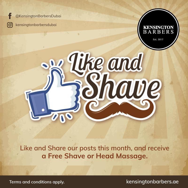 Kensington Barbers Offer